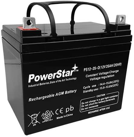 PowerStar Lawn Mower Battery